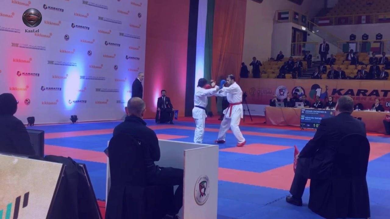 Rafael Aghayev's hard training workout