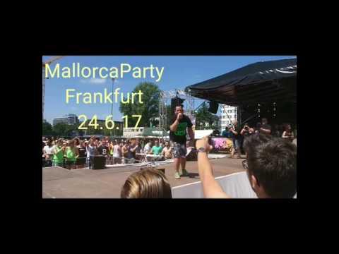 Mallorcaparty Frankfurt 24.6.17