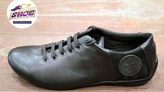 Мужские кожаные туфли комфорт Road Style