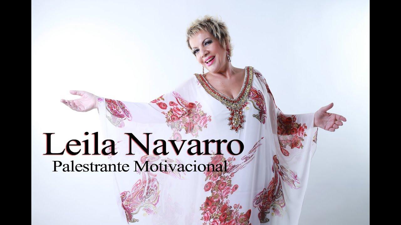 Palestrante Motivacional Leila Navarro