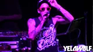 YELAWOLF - SLUMERICAN TOUR MEDLEY - PART 1  [LIVE @ SKULLY'S in COLUMBUS, OH]