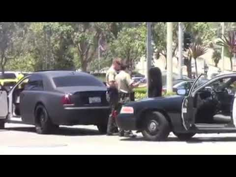 california cops confiscated blac chyna's rolls-royce! - youtube