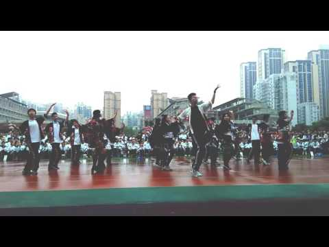 Elysion,Wuhan NO.1 Middle School's good dance!lovely boys and girls!