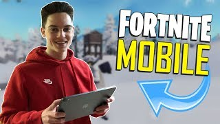 FAST MOBILE BUILDER on iOS / 945+ Wins / Fortnite Mobile + Tips & Tricks!
