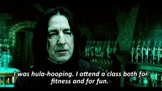 How Snape actually hurt his wrist (Harry Potter/Brooklyn Nine-Nine)