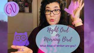 Vivi at Home Writes ~ Ep 34 Night Owl or Morning Bird?