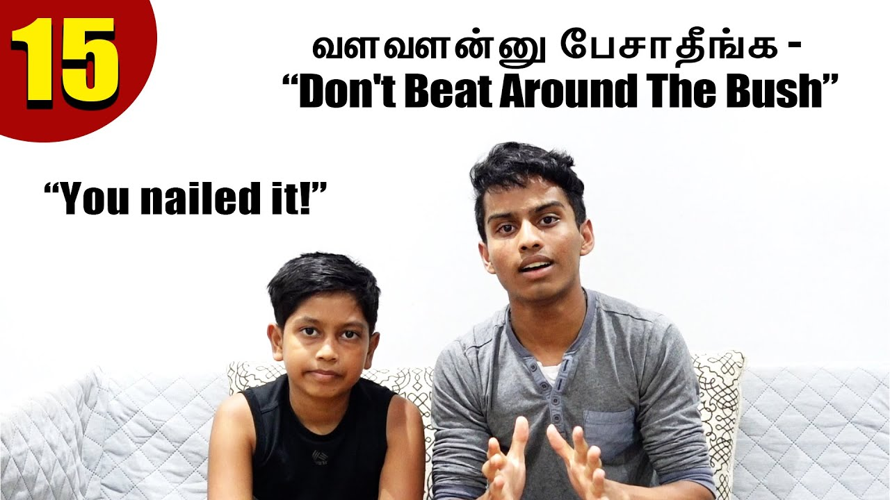 "You Nailed it! | ""Don't Beat Around the Bush"" 
