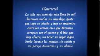 Indiferencia   Centinela Ft Guerrero (Letra)