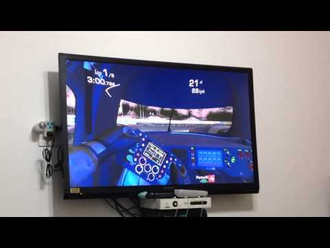 Play Real Racing 3 On Big TV Screen With Xbox 360 Controller