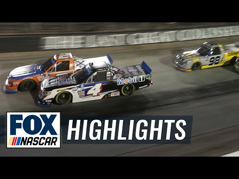 NASCAR Camping World Truck Series at Bristol | NASCAR ON FOX HIGHLIGHTS |