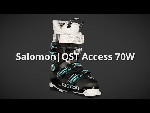 2018 Salomon QST Access 70W Womens Boot Overview by SkisDotCom