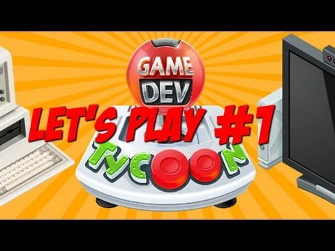 Let's Play Game Dev Tycoon - Part 1 - Hypercore Games Inc!!! w/Hypercore Ripper