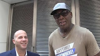 Dennis Rodman on Kanye: He's Doing What Trump Is Doing But It's All Love