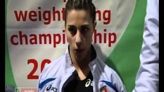 Тяжелая атлетика  Чемпионат Европы 2010  Беларусь Минск  Женщины 48кг