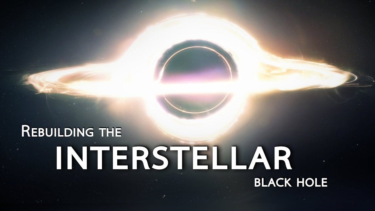 Rebuilding the INTERSTELLAR black hole Shanks FX PBS