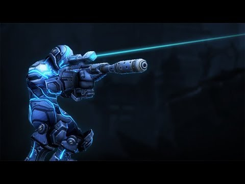 Starcraft 2 New Ghost Exclusive Skin - YouTube