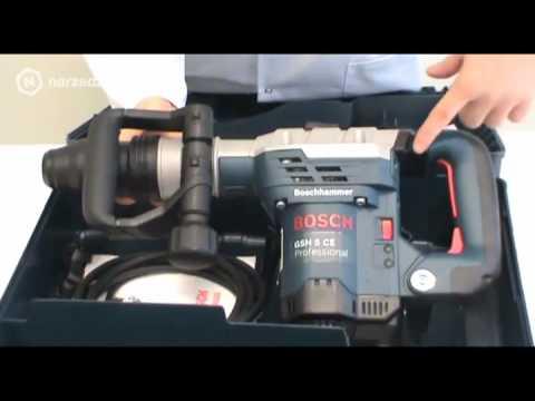 Interessant Młot udarowy Bosch GSH 5 CE - YouTube SE45