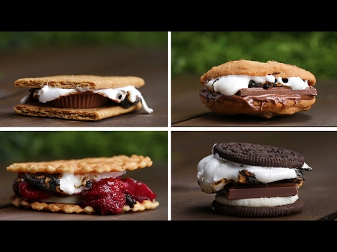 Download Youtube: S'mores 4 Ways