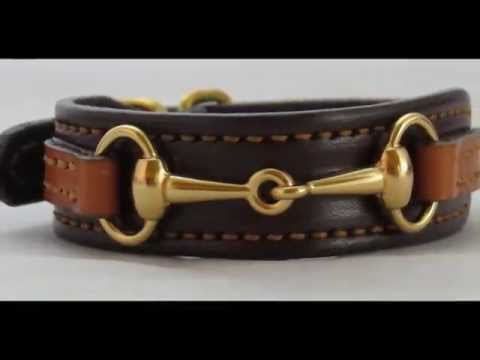 Amish Handmade Leather Equestrian Bit