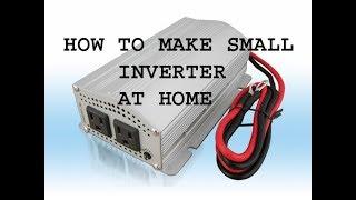 Hoe maak je 12 volt naar 220 volt omvormer