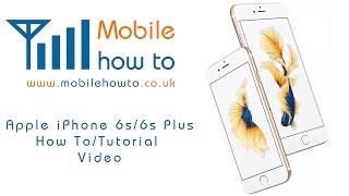 How To Factory Reset/Restore/Wipe - Apple iPhone 6s/6s Plus