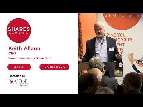 Keith Allaun, CEO - PowerHouse Energy Group (PHE)