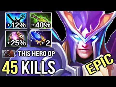 NEW IMBA HERO MID 45 KILLS 100k DMG Scepter OC Skywrath Mage Epic Gameplay by Eurus 7.21c Dota 2