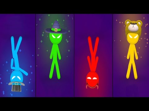 THE STICKMAN MINI GAMES TOURNAMENT Gameplay Walkthrough STICKMAN PARTY Android Game