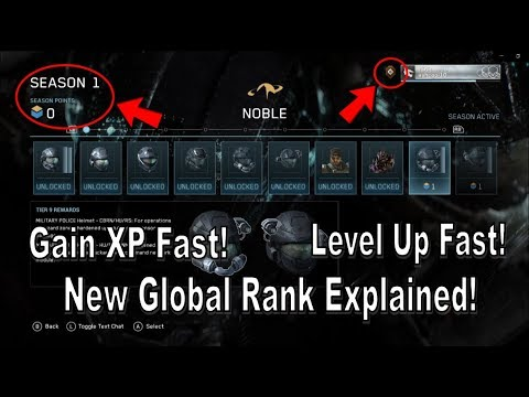 Halo Mcc Halo Reach How To Gain Xp And Level Up Fast New Seasons And Global Rank Explained