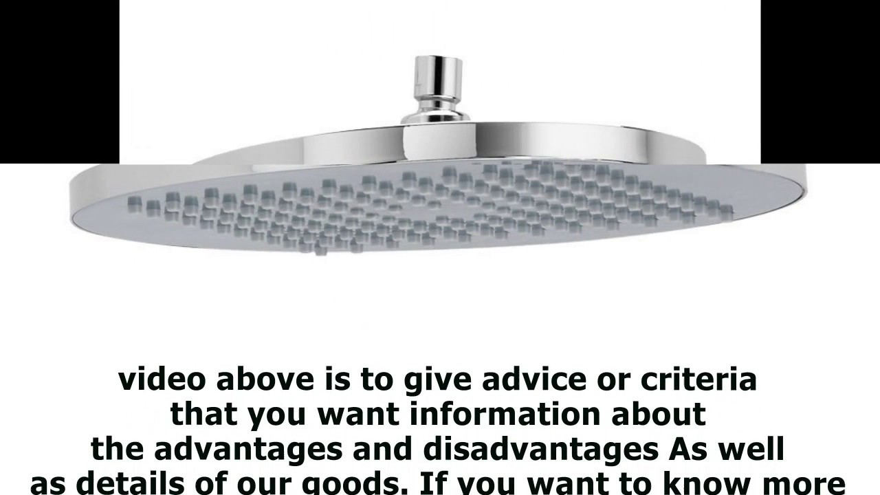 American Standard 1660 683 002 10 Inch Modern Rain Easy Clean