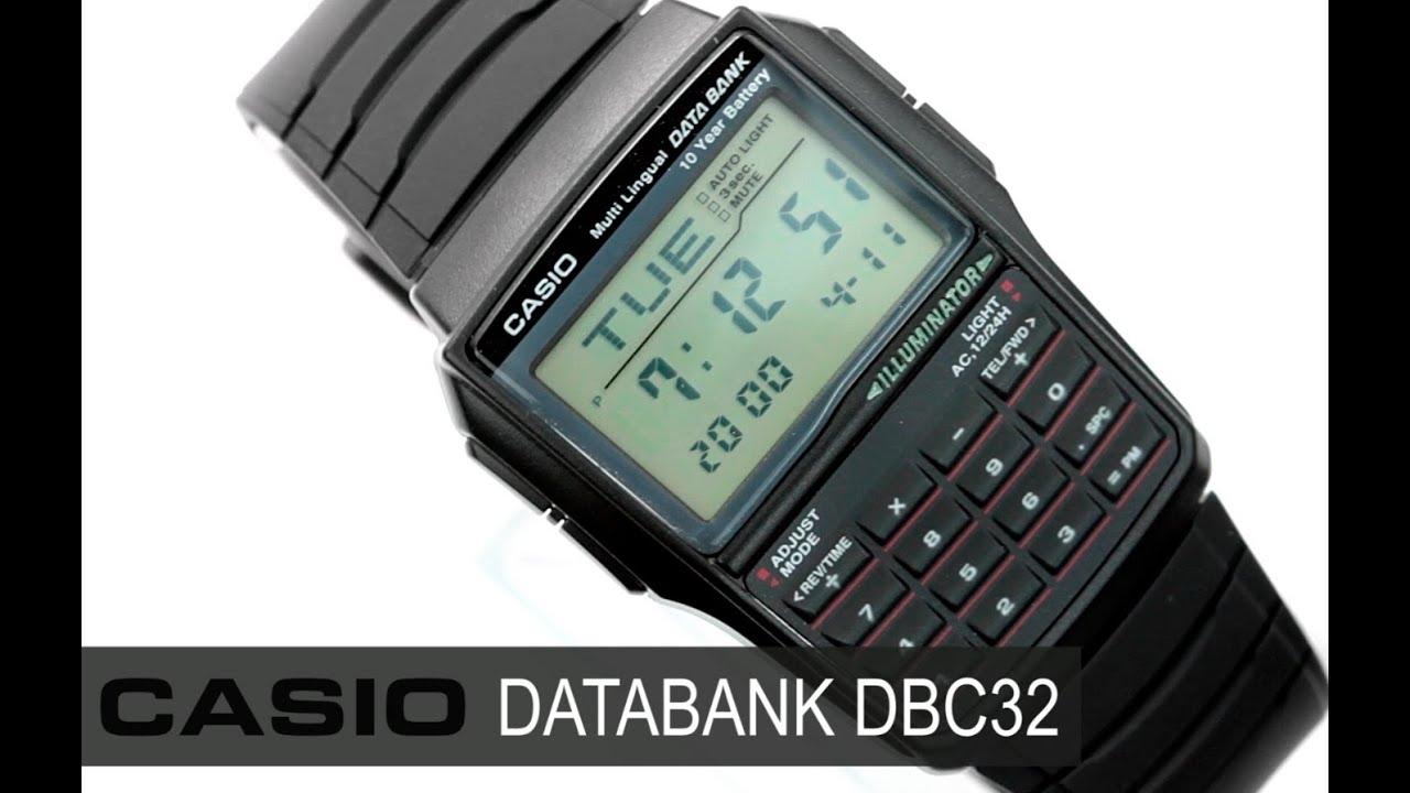 726efa44e56b Reloj Casio Retro Vintage DBC32 - www.CompraFacil.mx - YouTube