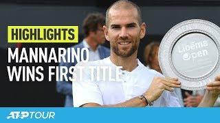 Mannarino's Moment In 's-Hertogenbosch | HIGHLIGHTS | ATP