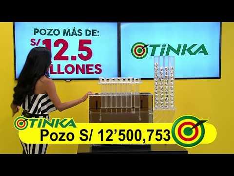 Sorteo Tinka - Domingo 13 de mayo de 2018