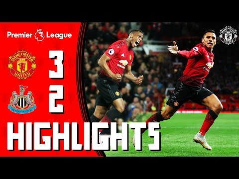 Highlights | Manchester United 3-2 Newcastle | Mata, Martial & Alexis Seal Comeback Win for the Reds thumbnail
