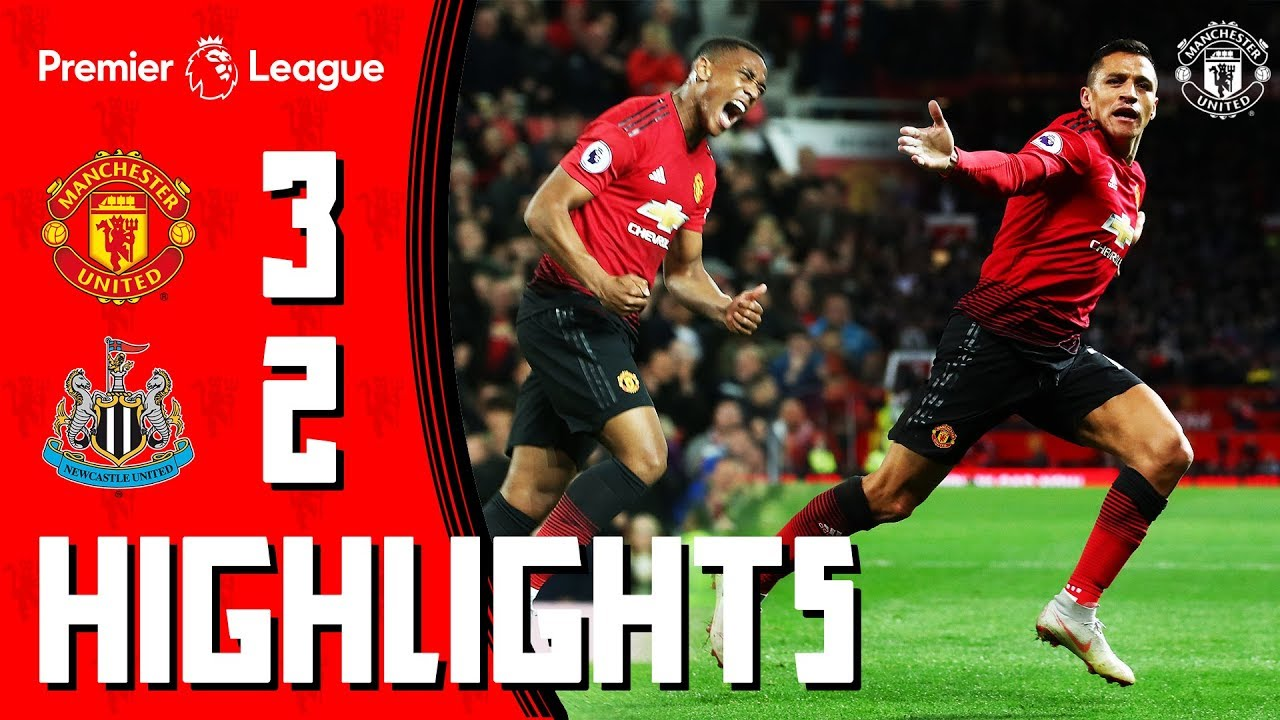 Download Highlights | Manchester United 3-2 Newcastle | Mata, Martial & Alexis Seal Comeback Win for the Reds