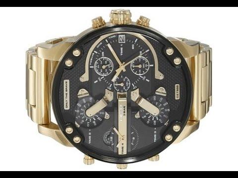 diesel men s dz7333 mr daddy 2 0 analog display analog quartz gold diesel men s dz7333 mr daddy 2 0 analog display analog quartz gold watch