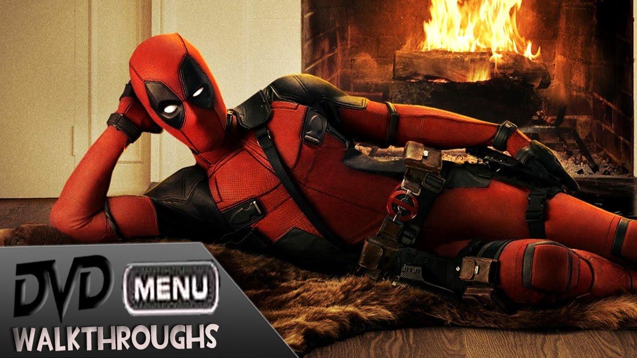 Deadpool 2016 Dvd Menu Walkthrough Youtube