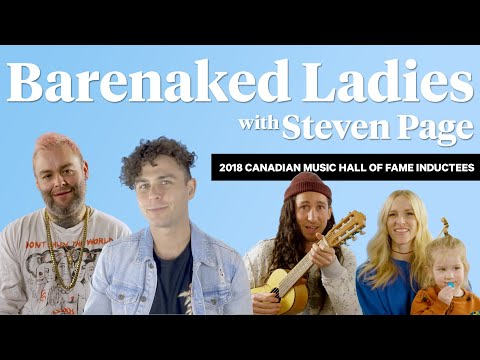 Congratulations Barenaked Ladies! The 2018 Canadian Music Hall of Fame Inductees