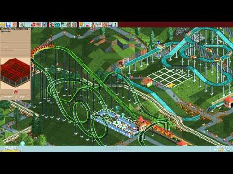 RollerCoaster Tycoon Deluxe - Katie's World [HD] (Hasbro Interactive) (1999/2002)