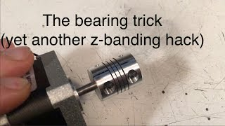 Viewer question: the ball bearing trick?