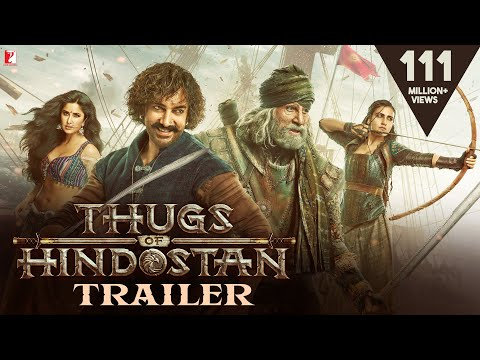 Thugs Of Hindostan - Official Trailer | Amitabh Bachchan | A
