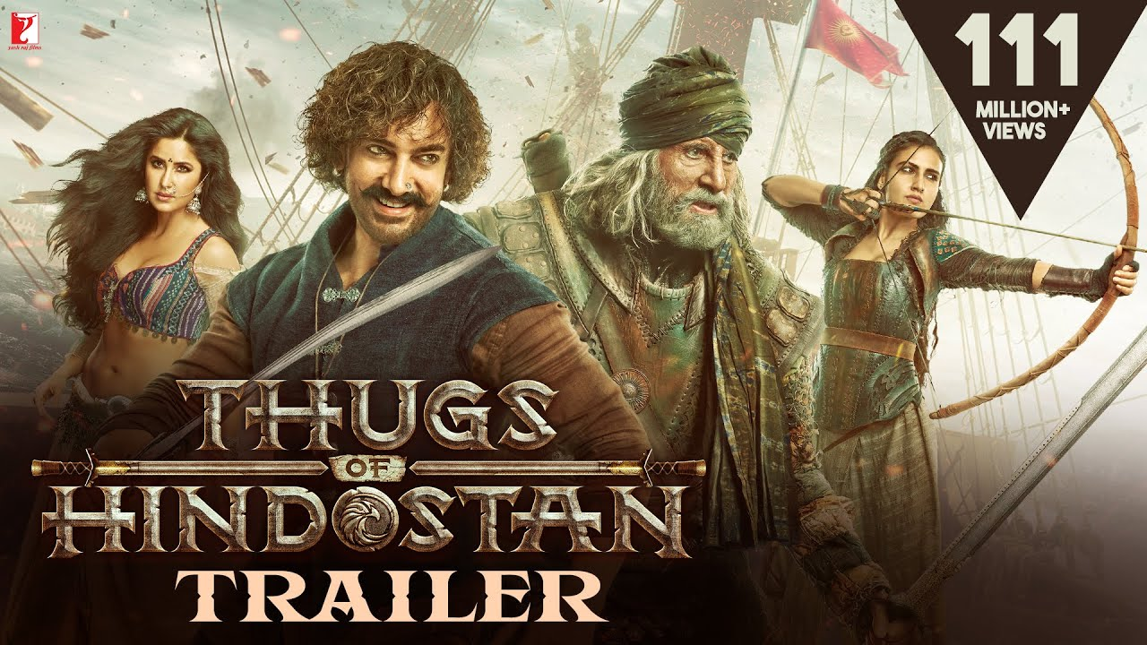 Thugs of Hindustan | Latest Trailer | All Motion Posters