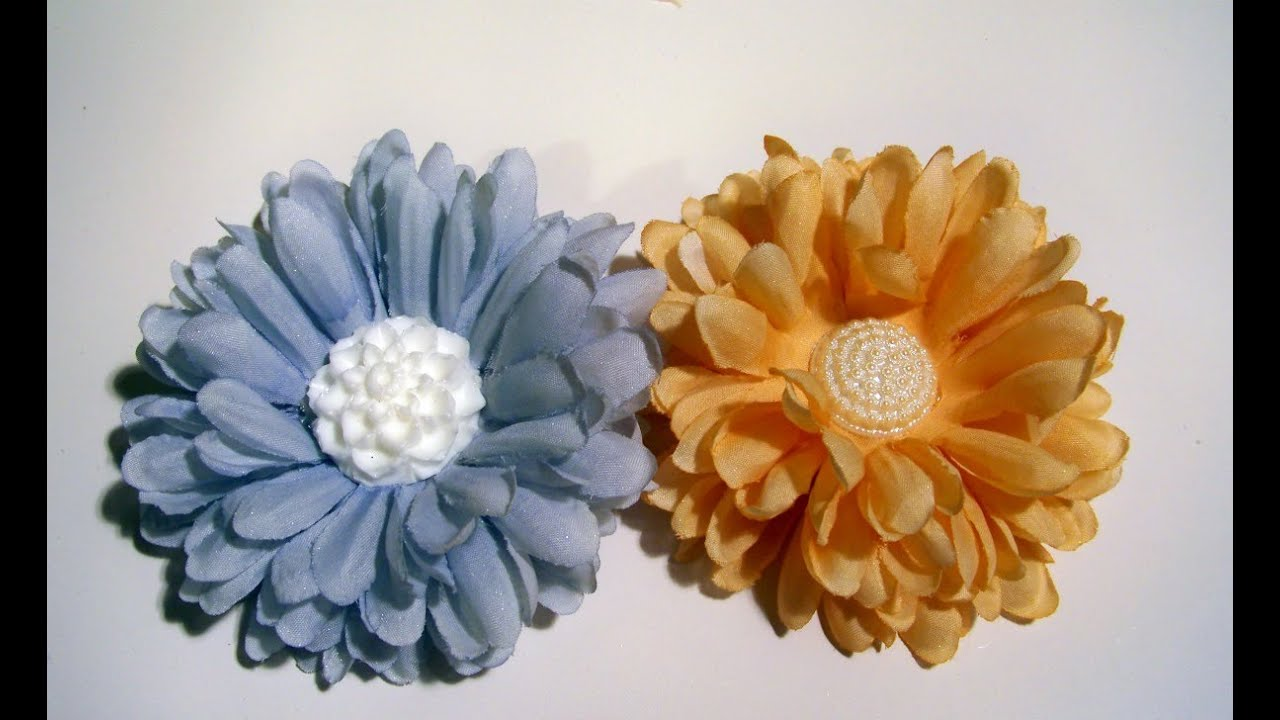 Flower Friday Upcycled Old Or Unused Silk Flowers Youtube