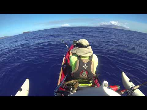 Kayak fishing maui hawaii youtube for Kayak fishing hawaii