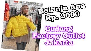 Bongkar Factory Outlet Jakarta di Mangga 2 Square