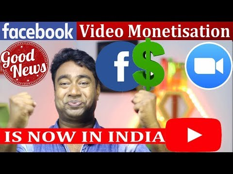 Big News ! Facebook Video Monetisation started in INDIA ! Ad breaks , watch for Creators