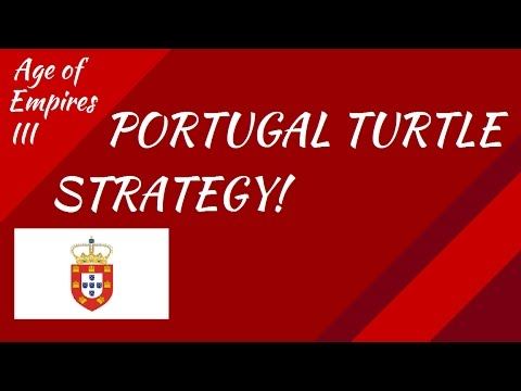 Portugal Turtle Strategy! AoE III
