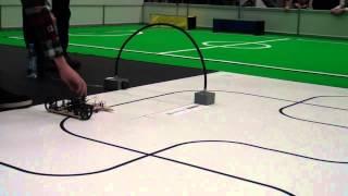Robotex 2012 Joonejärgimine