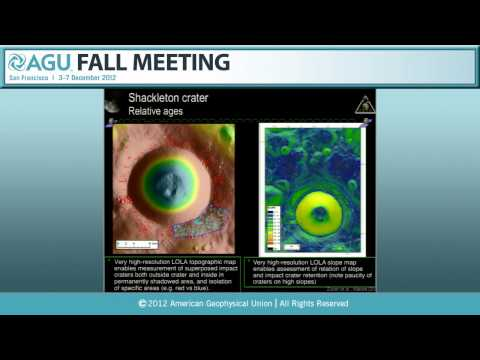 Shoemaker Lecture: P33E. Gravity, Topography and the Early Evolution of the Moon - 2012 Fall Meeting