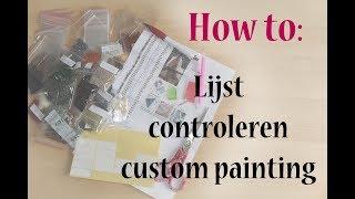 NL • How to: Lijst custom painting controleren